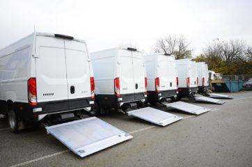 UNIVANS flota sa ugrađenim DH rampama