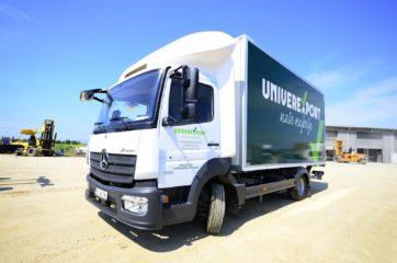UNIC nadogradnja za prevoz 10EP, sa utovarnom rampom