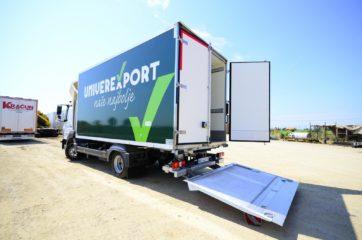 UNIC nadogradnja za prevoz 10EP, sa utovarnom rampom 5
