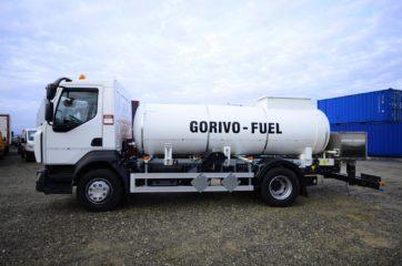 UNI CARGO cisterna V-6000l za prevoz goriva