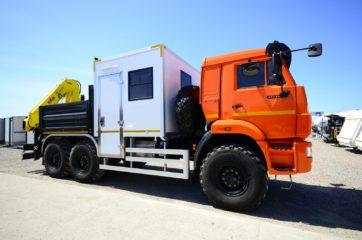 Nadogradnja za prevoz rudara sa tovarnim sandukom i Hyva dizalicom