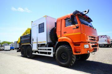 Nadogradnja za prevoz rudara sa tovarnim sandukom i Hyva dizalicom 13