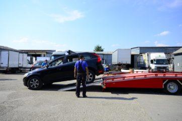 UNIT O3 - Dvoosovinska auto prikolica (navoz) sa podiznim platformama 3