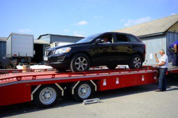 UNIT O3 - Dvoosovinska auto prikolica (navoz) sa podiznim platformama 4