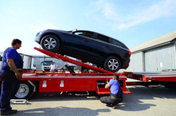 UNIT O3 - Dvoosovinska auto prikolica (navoz) sa podiznim platformama 7