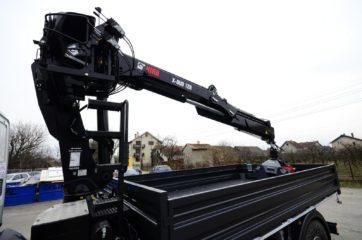UNI CARGO SIDES sa HIAB X-Duo dizalicom sa visoko postavljenim sedistem 4