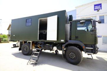 UNIC Pokretna stanica - radar - army