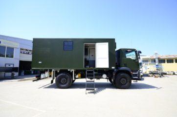 UNIC Pokretna stanica - radar - army 2