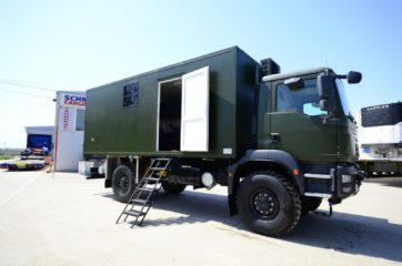 UNIC Pokretna stanica - radar - army 3