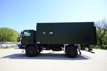 UNIC Pokretna stanica - radar - army 4