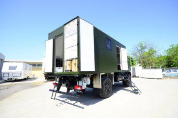 UNIC Pokretna stanica - radar - army 7