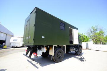 UNIC Pokretna stanica - radar - army 8