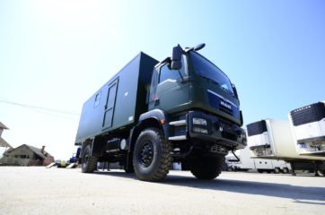 UNIC Pokretna stanica - radar - army 9