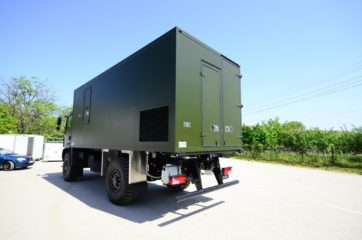 UNIC Pokretna stanica - radar - army 11