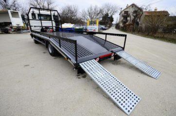 UNI CARGO CAR STEEL sa hidraulicnim navoznim stazama 4