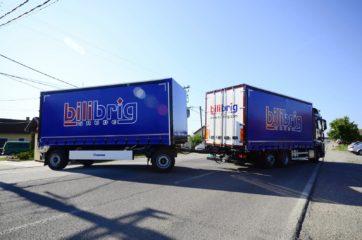 UNI CARGO tautliner za utovar 18EP u kamion i Krone tautliner za utovar 17EP - tandem 2