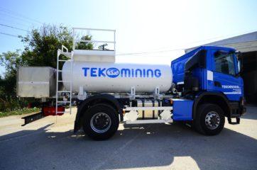 UNI CARGO cisterna V-5000l za prevoz naftnih derivata sa digitalnom mernom opremom SAMPI 5