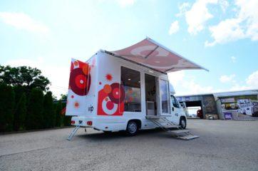 UNI AL pokretna prodavnica - mobile shop - tenda 1