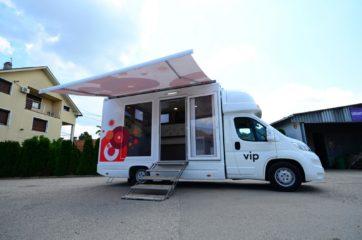 UNI AL pokretna prodavnica - mobile shop - tenda 2