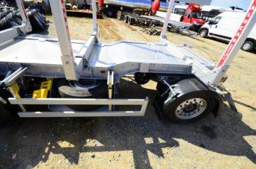 UNIT O4 - troosovinska, Aluminijum sticer prikolica 27t bruto, prevoz drva 5