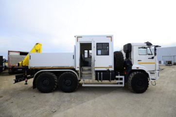 UNIC nadogradnja za prevoz rudara sa HYVA dizalicom 3