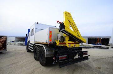 UNIC nadogradnja za prevoz rudara sa HYVA dizalicom 8