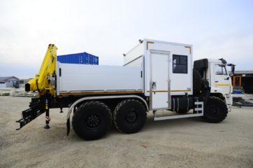 UNIC nadogradnja za prevoz rudara sa HYVA dizalicom 9
