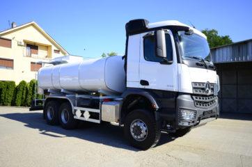 UNI CARGO cisterna V-15000l za prevoz naftnih derivata sa mehaničkom mernom opremom SAMPI 5