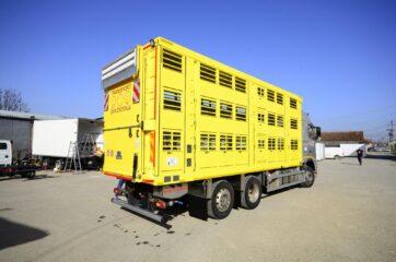 UNI CARGO ANIMAL nadogradnja za prevoz živih životinja u III nivoa