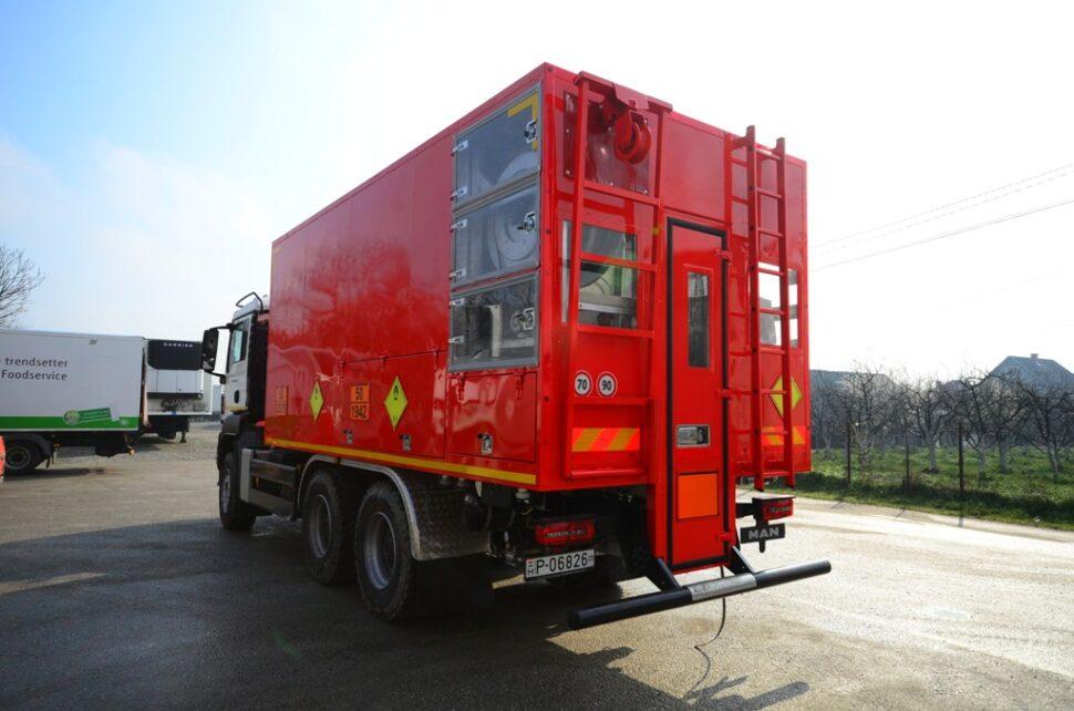 Memu - Mobile unit for making explosives