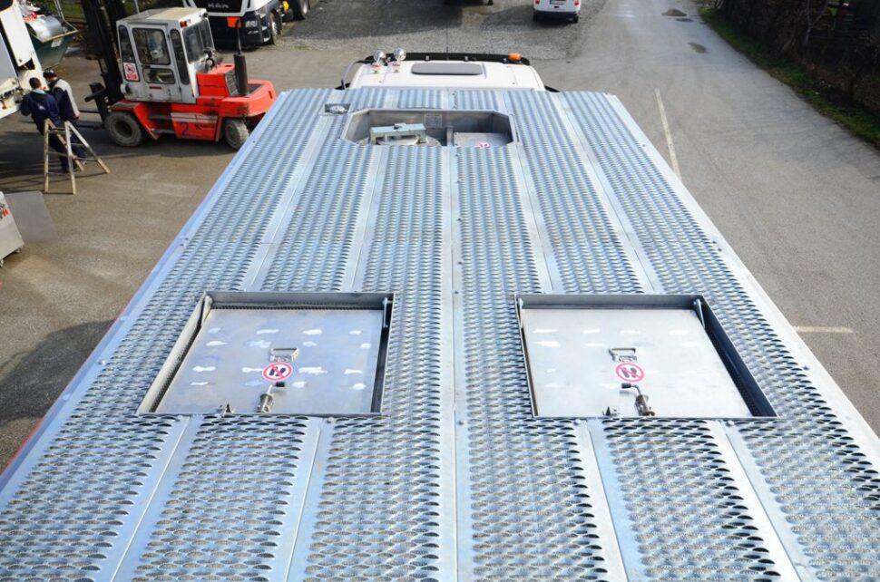 MEMU aluminum tread on the roof upgrade
